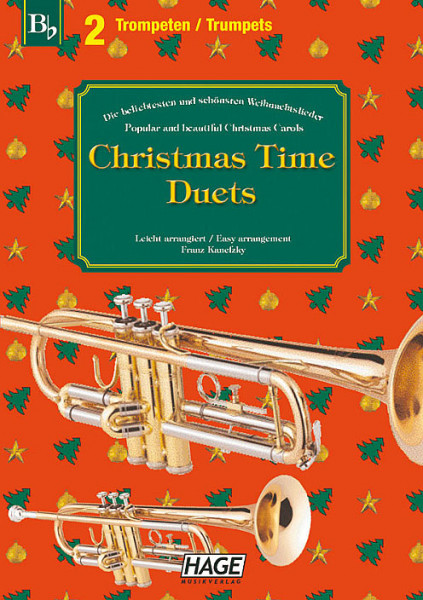 Christmas Time Duets für 2 Trompeten