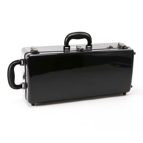 WICONA-Koffer 2er-Trompete Glasfaser 175, schwarz